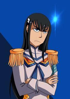 Satsuki Kiryuin, Disney Characters, Fictional Characters, Disney Princess, Anime, Art, Art Background, Kunst, Cartoon Movies
