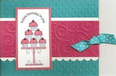 Cuttlebug Birthday dry emboss - Homemade Cards, Rubber Stamp Art, & Paper Crafts - Splitcoaststampers.com