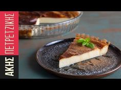 Γαλατόπιτα | Kitchen Lab by Akis Petretzikis - YouTube Greek Pastries, Greek Cooking, Sweet Pie, Greek Recipes, Biscotti, Make It Simple, Recipies, Cheesecake, Deserts