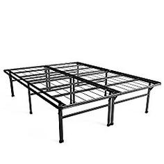zinus 18 inch premium smartbase mattress foundation 4 extra inches high for underbed