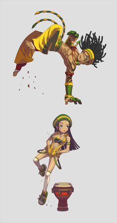 Lost Saga Heroes on Behance Fantasy Character Design, Character Concept, Character Inspiration, Character Design References, Character Drawing, Black Cartoon Characters, Fantasy Characters, Dope Cartoon Art, Dope Cartoons