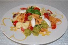 » Insalata di pasta con mozzarella - Ricetta Insalata di pasta con mozzarella di Misya