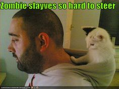 Zombie slaves are so hard to steer.