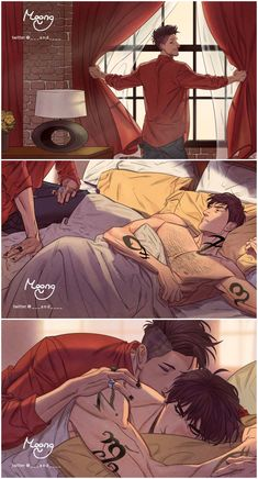 Wake up Sleeping Beauty Drawn by (sadly I can't read the name; Moong or something like that?) shadowhunters alexander 'alec' lightwood magnus bane the mortal instruments malec Shadowhunters Malec, Shadowhunters The Mortal Instruments, Alec Lightwood, Shadow Hunters Cast, Mathew Daddario, Magnus And Alec, Cassandra Clare Books, The Dark Artifices, Bd Comics