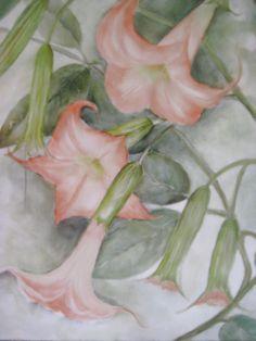 Porcelain Paintings - Florals www.porcelainpaintings.com