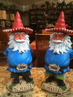 Gnombre - The Lovable Hispanic Garden Gnome & Bobblehead