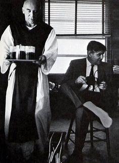 Thomas Merton with John Howard Griffi