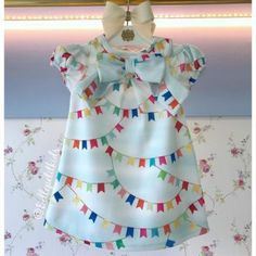 Roupas de Festa Junina para bebês 2nd Baby, Baby Kids, Bella Angel, Maria Valentina, Baby Tea, Kids Frocks Design, Frock Design, Girls Dresses, Summer Dresses