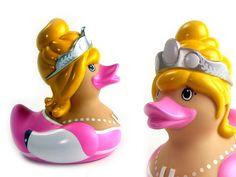 Princess rubber duck!