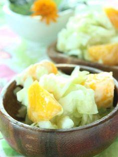 爽やか♪キャベツとマンゴーのヨーグルトサラダ by シニア野菜ソムリエ ...