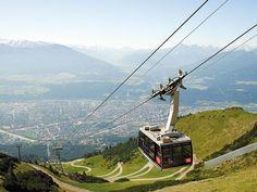 Nordkette Gondola, Innsbruck Austria