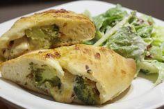 Chicken & Broccoli Calzones