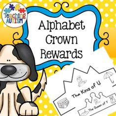 Alphabet Crown RewardsThis activity includes King and Queen crowns for each letter of the alphabet. These are great for helping and encouraging students to learn about the different letters in the alphabet. Once a student has mastered a 'letter' they gain a crown!