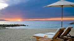 This tropical paradise in Puerto Vallarta has a prime beachfront location.