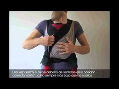Mochila Portabebés Caboo DX - Portabebés y Porteo - Crianza - Tetatet - Camisetas de Lactancia y Vestidos de Lactancia