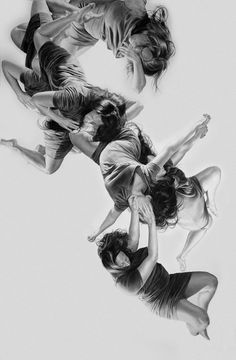 charcoal drawings moshpits - Google Search