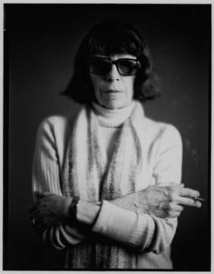 Joan Mitchell (looking totally badass) #art #artists #women