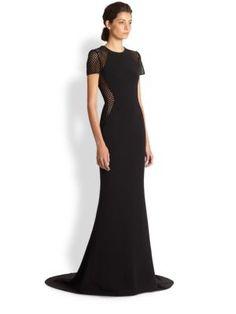 Stella McCartney - Belinda Mesh Insert Gown  Mother of the Bride contender :)
