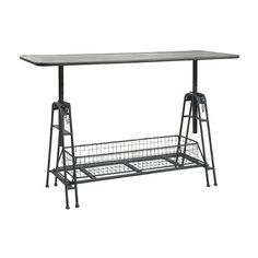 Adjustable Metal Work Table | American Home Furniture and Mattress | Albuquerque, Santa Fe, Farmington - NM