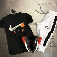 Nike Outfits, Sneaker Outfits, Converse Sneaker, Puma Sneaker, Dope Outfits For Guys, Swag Outfits Men, Tomboy Outfits, Outfits For Teens, Casual Outfits