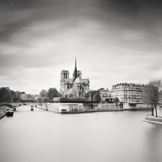 Notre Dame Study Paris, France 2017 - No.: 11829 Toned gelatin silver print, hand signed, dated and numbered edition of edition of 9 edition of 7 edition of 5 Panorama Camera, Gelatin Silver Print, Fine Art Photography, Paris France, Notre Dame, New York Skyline, Study, Black And White, Prints