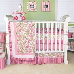 Found it at Wayfair - Paisley Park 4 Piece Crib Bedding Set