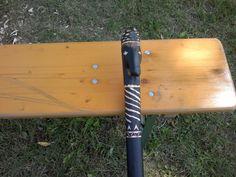 Das Meisterstück eines Stockes von Andrey Karimov = der Lagerstock als Vorbild   SYSTEMA Austria Sommercamp2015 Baseball