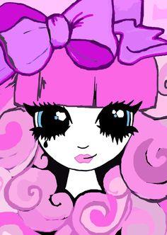 Pink Roxie Girl Kawaii Jewelry, Harajuku Girls, Pink Aesthetic, Roxy, My Design, Kittens, Pastel, Rainbow, Anime