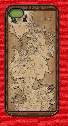 iPhone 4 case and iPhone 4s Case iphone 4 Cover Game of thrones map,Iphone 4s cover plastic case
