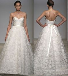i think i'm obsessed with all things wedding related Christos Wedding Dresses, Christos Bridal, Pretty Wedding Dresses, 2015 Wedding Dresses, Wedding Gowns, Stunning Dresses, Beautiful Gowns, Dress Tutorials, Dream Dress