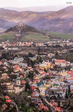 Banská Štiavnica Travel Around The World, Around The Worlds, Bratislava, Homeland, Czech Republic, Wonderful Places, Hungary, Grand Canyon, Explore