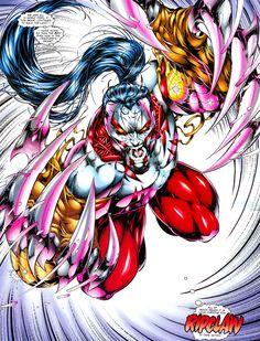 Ripclaw in New Men Image Comics, Spawn, Wolverine, Spiderman, Universe, Christian, Superhero, Board, Men