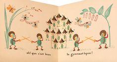 Bonshommes des Bois | Élisabeth Ivanovsky Carnival Rides, Elisabeth, Book Illustration, Whimsical, Wax, Creatures, Artist, Woodwind Instrument, Amen