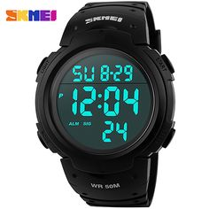 SKMEI Brand Men Women Sports Watches Digital Clock LED Military Watch Waterproof Outdoor Casual Wristwatches Relogio Masculino #>=#>=#>=#>=#> Click on the pin to check out discount price, color, size, shipping, etc. Save and like it!