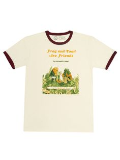 Literacy Programs, Frog And Toad, Ringer Tee, Black Felt, Mens Tees, Funny Shirts, Book Donations, Unisex, Books