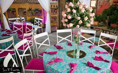 Dicas para Festa Azul e Rosa! Quer uma festa perfeita com as cores perfeitas? Só no Debuteen você encontra ideias inspiradoras para a sua festa de 15 anos!!