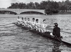 Princeton varsity rowing crew 1930