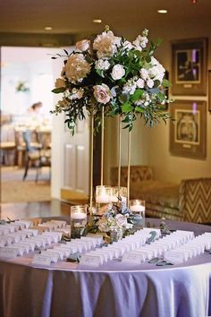 Wedding is thought to be made in heavens. A wedding is just one of the most anticipated and exclusive moments for each one. An outdoor wedding, nevert. Spring wedding styling and inspiration. Tall Wedding Centerpieces, Wedding Flower Arrangements, Wedding Bouquets, Centerpiece Ideas, Centerpiece Flowers, White Bouquets, Bridesmaid Bouquets, Flower Bouquets, Floral Arrangements