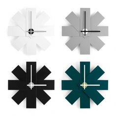 Normann Copenhagen Watch Me kello, musta | Kellot | Sisustus | Finnish Design Shop