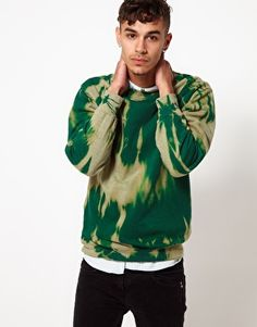 Enlarge Reclaimed Vintage Tye-Dye Sweat