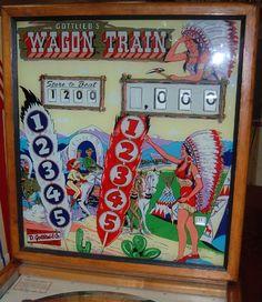 1960 Gottlieb Wagon Train pinball