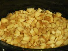 Crockpot ovn applesauce