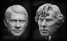Sherlock and Watson by TrevorGrove.deviantart.com on @deviantART   Can you believe this?  WOW.