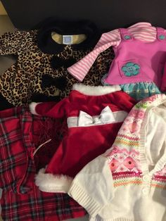 Build A Bear Clothes Mixed Lot 13 Pieces Other Brands Doll Clothes Justice #BuildABearWorkshop #AllOccasion