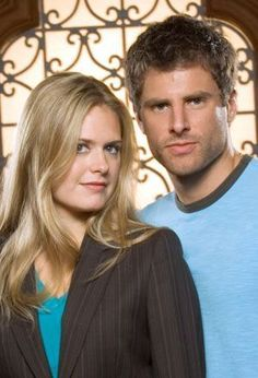 James Roday and Maggie Lawson - psych