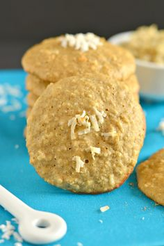 Quinoa Cookies with coconut & cinnamon are soft, chewy & melt-in-your-mouth. Made with a few healthy ingredients, you couldn't ask for a better cookie!