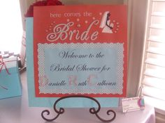 "Photo 1 of 13: Tiffany Blue & Red / Bridal/Wedding Shower ""Monogram Bridal Brunch"" | Catch My Party"