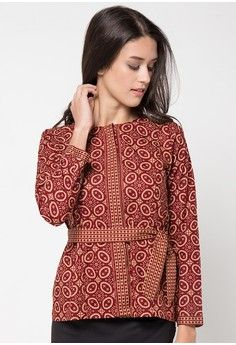 Blouse Imaela from Rianty Batik in red_1