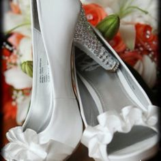These are MY wedding shoes I just loved them 7/30/11