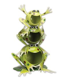 Another great find on #zulily! Froggy Solar Light Sculpture #zulilyfinds